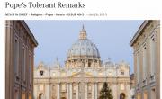 Catholic Pundits In Damage Control Mode After Pope Says Something Halfway Nice