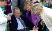 George And Barbara Bush Under Fire For Witnessing Gay Wedding