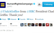 Human Rights Campaign Thanks Utah Attorney General's Office For Being Incompetent