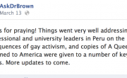 Is Peru The Next Place Anti-Gay Americans Want To Foment Hatred?